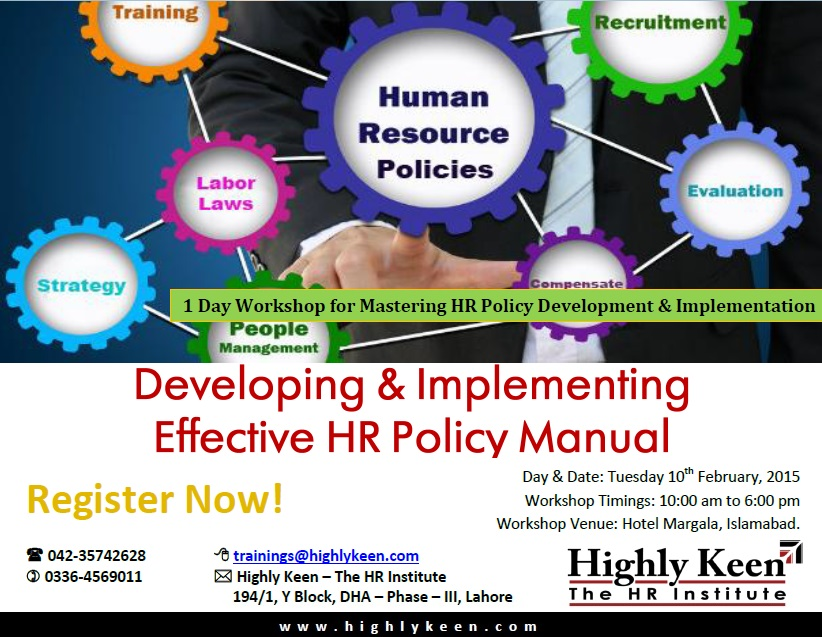 hr policies and implementation of hr
